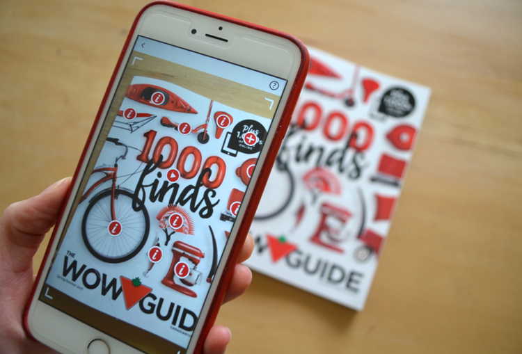 Wow Guide Cover with iPhone