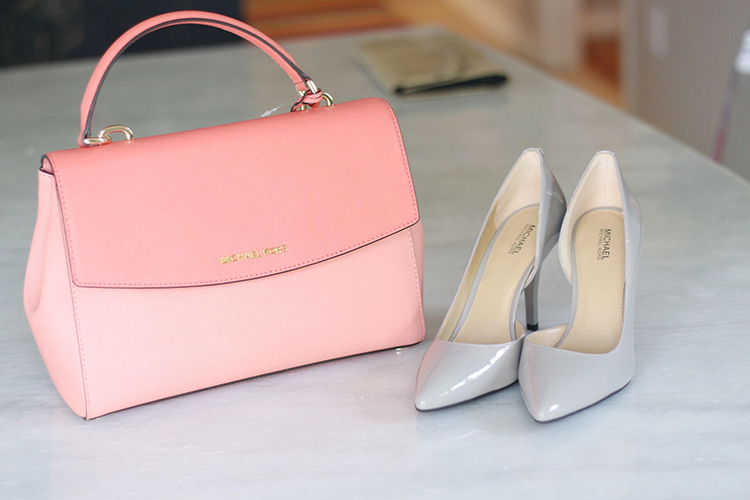 Michael Kors bag and shoes